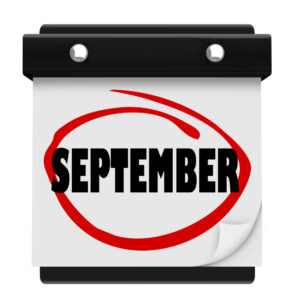 Holy Crap — It's September! by Brian Califano